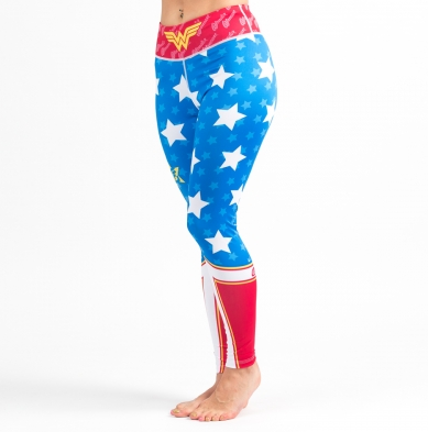 Wonder Woman BJJ Spats (Tights) (Officially Licensed)