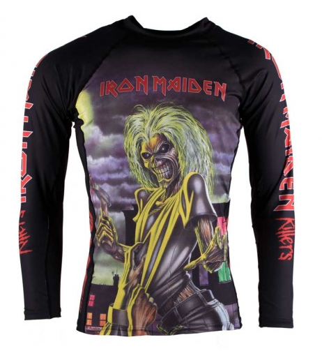 Tatami X Iron Maiden Killers Rash Guard - Budovideos