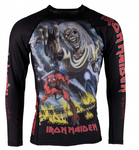 Tatami X Iron Maiden Number of the Beast Rash Guard - Budovideos