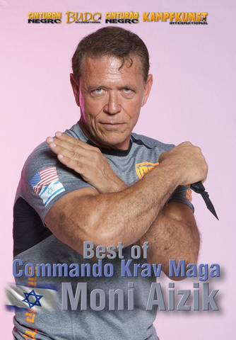 Best of Commando Krav Maga DVD with Moni Aizik - Budovideos