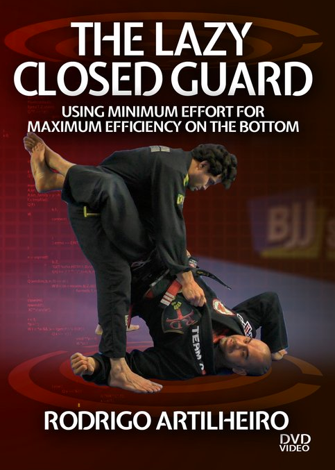 The Lazy Closed Guard 4 DVD Set by Rodrigo Artilheiro