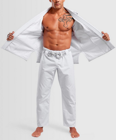 The Italian BJJ Kimono by Gr1ps  - WHITE, BLUE, or BLACK - Budovideos