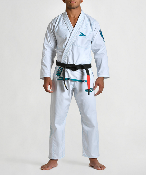 Superlight BJJ Kimono by Gr1ps - WHITE
