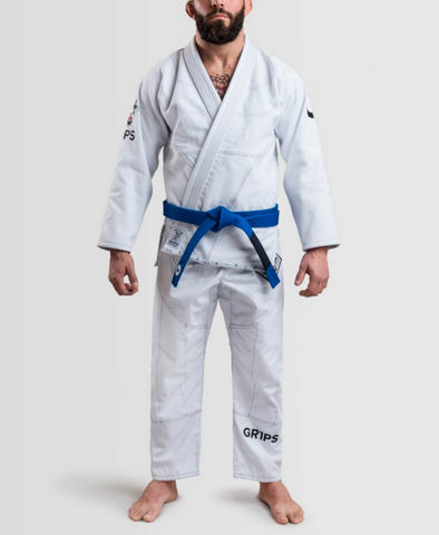 Arte Suave II BJJ Kimono by Gr1ps  - WHITE, BLUE, or BLACK