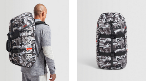 Duffel Backpack 2.0 by Gr1ps -BLACK, NIGHT CAMO or WOODLAND CAMO - Budovideos