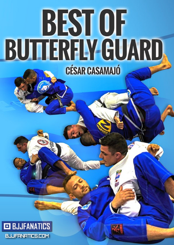 Best of Butterfly Guard 2 DVD Set by Cesar Casamajo - Budovideos