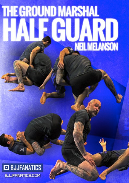 The Ground Marshall Half Guard 4 DVD Set By Neil Melanson - Budovideos