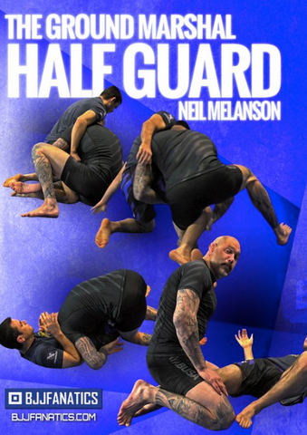 The Ground Marshall Half Guard 4 DVD Set By Neil Melanson