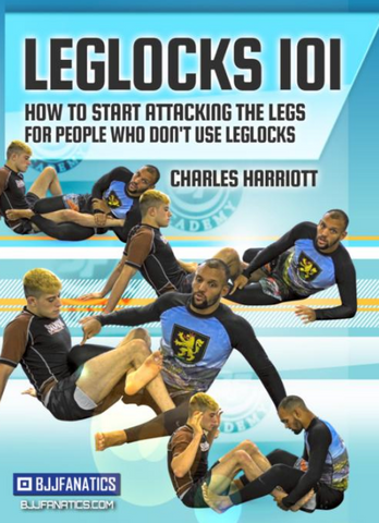 Leglocks 101 by Charles Harriott 2 DVD Set - Budovideos