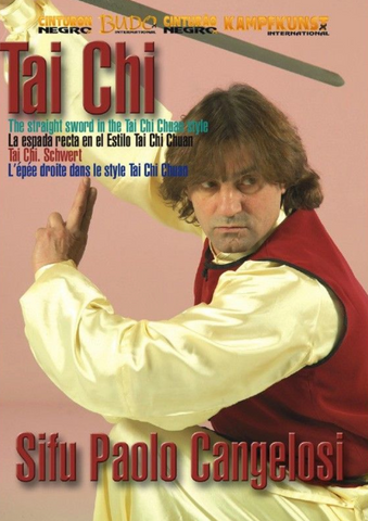 Tai Chi Beijing Jen The Straight Sword DVD by Paolo Cangelosi