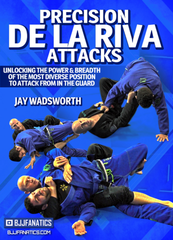 Precision De La Riva Attacks 2 DVD Set by Jay Wadsworth