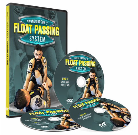 Float Passing System 3 DVD Set by Vagner Rocha