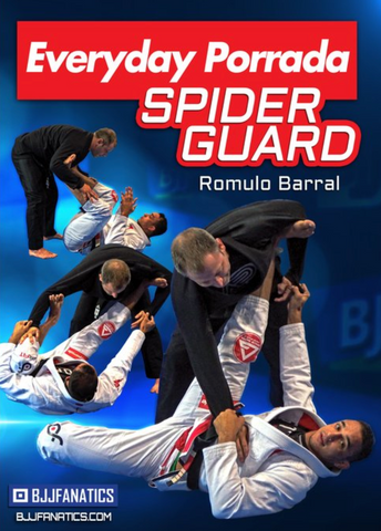 Everyday Porrada Spider Guard 4 DVD Set by Romulo Barral