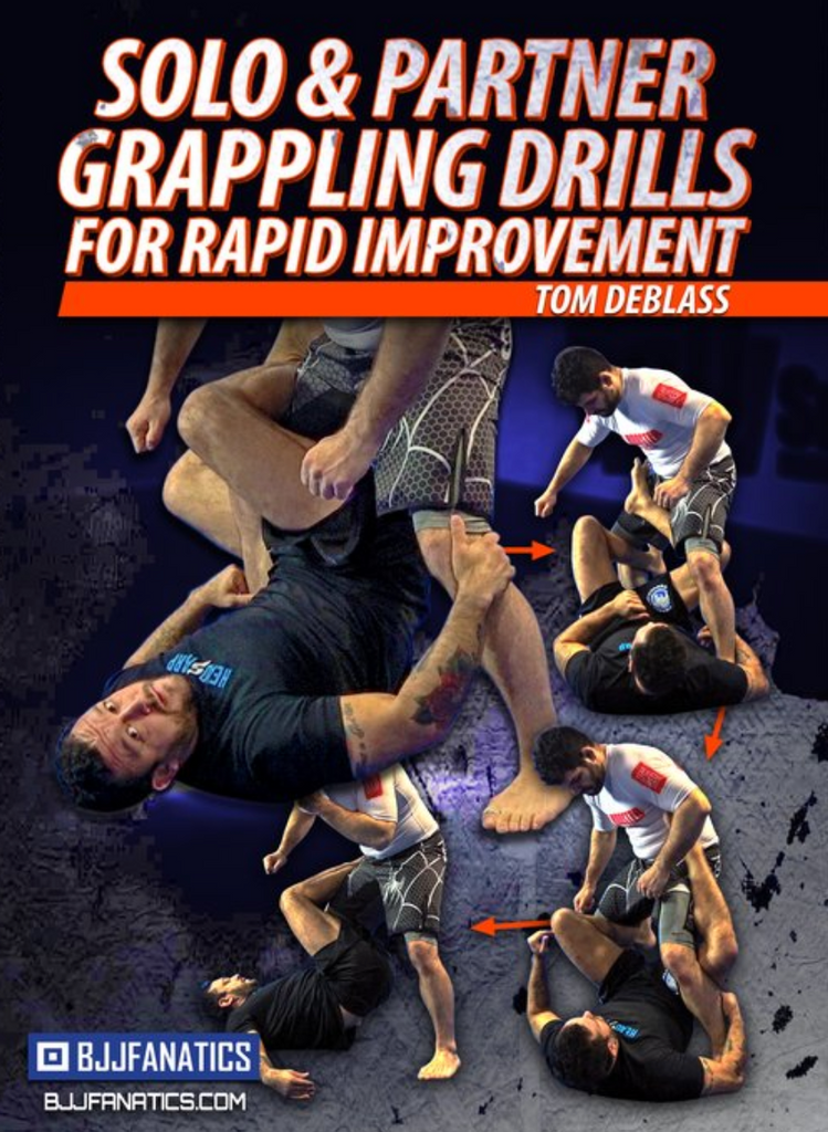 Solo & Partner Grappling Drills for Rapid Movement 4 DVD Set