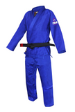Fuji Childrens BJJ Uniform - Blue - Budovideos