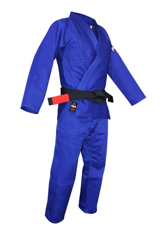 Fuji Childrens BJJ Uniform - Blue - Budovideos Inc