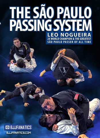 The Sao Paulo Passing System 4 DVD Set Leonardo Nogueira