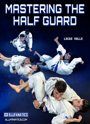 Mastering the Half Guard 4 DVD Set by Lucas Valle