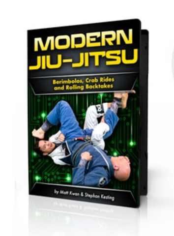Modern BJJ: Berimbolos, Crab Rides &  Rolling Backtakes 4 DVD Set with Matt Kwan and Stephan Kesting