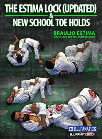 The Estima Lock & New School Toe Hold 3 DVD Set by Braulio Estima
