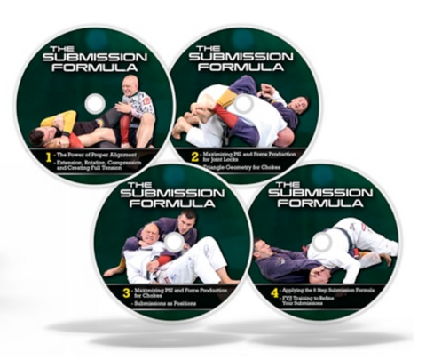The Submission Formula 4 DVD Set with Rob Biernacki & Stephan Kesting