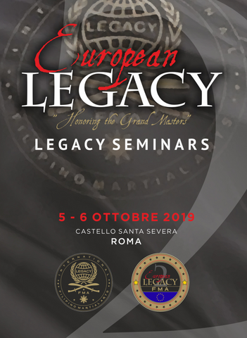 EUROPEAN LEGACY 2 Escrima Seminars 2019 DVD