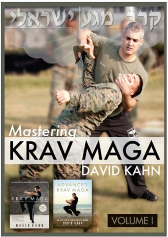 Mastering Krav Maga Vol 1 by David Kahn 6 DVD Set