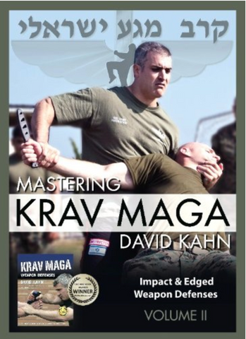 Mastering Krav Maga Vol 2 by David Kahn 5 DVD Set