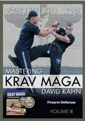 Mastering Krav Maga Vol 3 by David Kahn 3 DVD Set