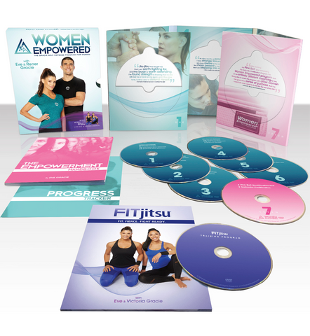 Women Empowered 2.0 Self Defense 8 DVD Set by Gracie University - Budovideos