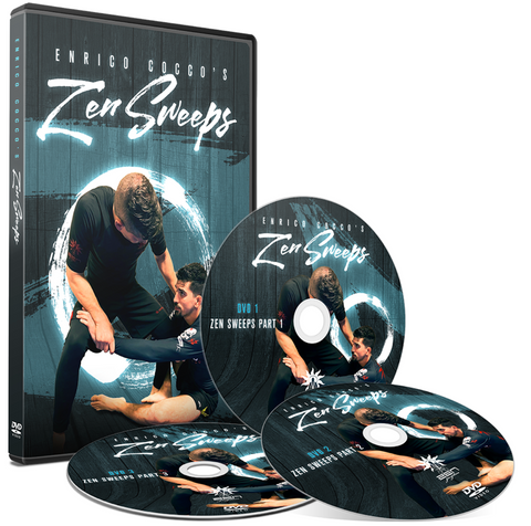 Zen Sweeps 3 DVD Set by Enrico Cocco