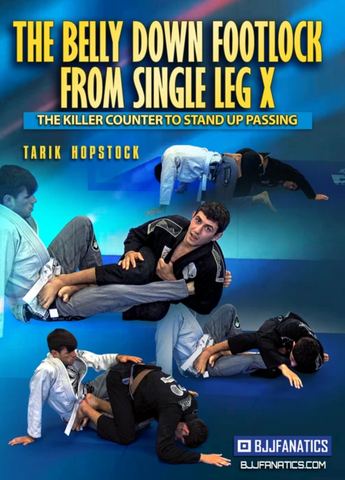 The Belly Down Footlock From Single Leg X 2 DVD Set by Tarik Hopstock