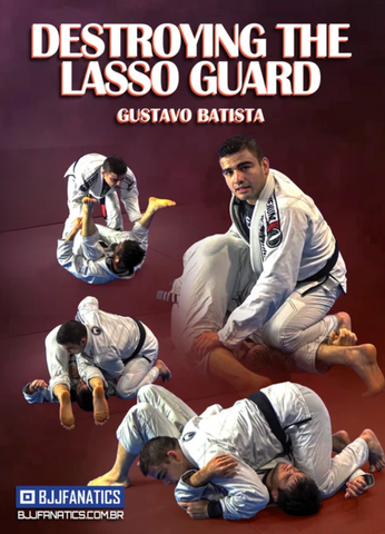 Destroying The Lasso Guard 4 DVD Set by Gustavo Batista