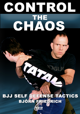 Control the Chaos Self Defense DVD with Bjorn Friendrich