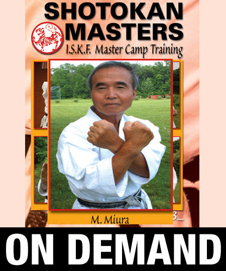 Shotokan Masters with Masaru Miura (On Demand)