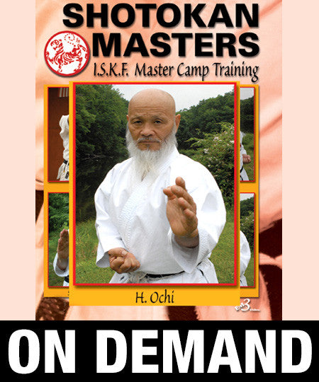 Shotokan Masters with Hideo Ochi (On Demand) - Budovideos