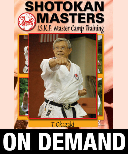 Shotokan Masters with Teruyuki Okazaki (On Demand)