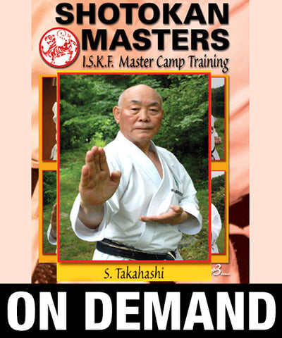 Shotokan Masters with Shunsuke Takahashi (On Demand) - Budovideos