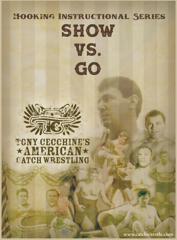 Show vs. Go and Submission Resistance 3 DVD Set with Tony Cecchine - Budovideos
