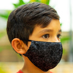 Defender PRO Antibacterial Mask (Spider Webs) includes 3 N95 Filters - Made in USA - Budovideos