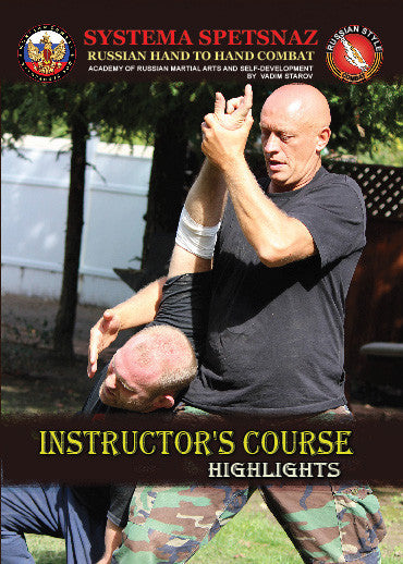 Systema Spetsnaz DVD #18: Instructor's Course (2 DVD set) - Budovideos