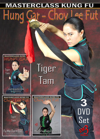 Hung Gar Choy Lee Fut 3 DVD Set by Tiger Tam