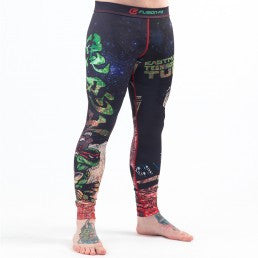 Teenage Mutant Ninja Turtles Book One BJJ Spats (Officially Licensed) - Budovideos
