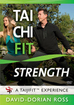 Tai Chi Fit Strength DVD By David-Dorian Ross - Budovideos