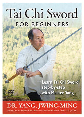 Tai Chi Sword for Beginners DVD by Yang, Jwing-Ming - Budovideos Inc