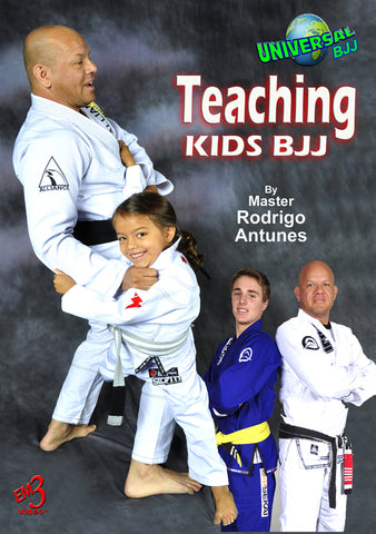 Teaching Kids BJJ DVD by Rodrigo Antunes