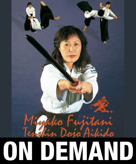 Photo Cover - Aikido Tenshin Dojo Vol 1 with Miyako Fujitani (On Demand)