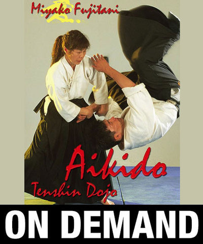 Photo Cover - Aikido Tenshin Dojo Vol 2 with Miyako Fujitani (On Demand)
