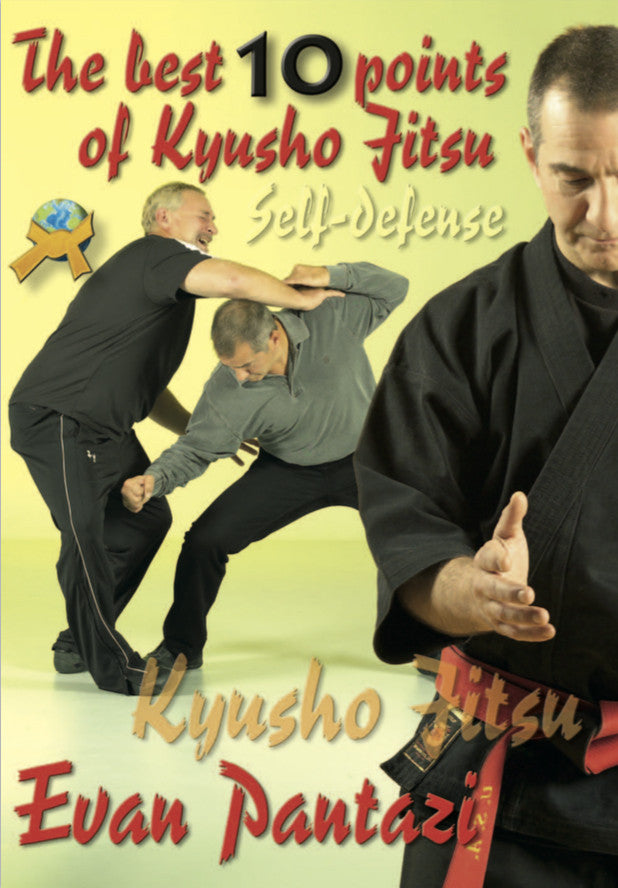 The Best 10 points of Kyusho Jitsu Self Defense by Evan Pantazi (E-book)