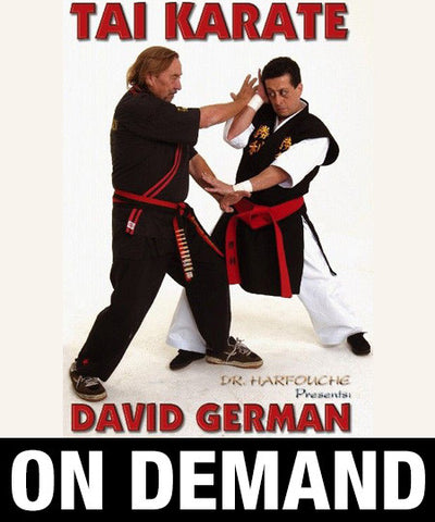 The Tai Karate Way by David German (On Demand) - Budovideos